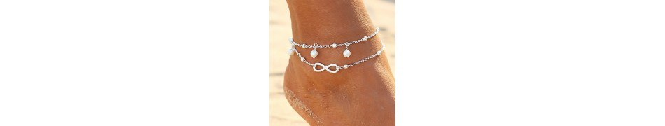 Ankle chains - love-and-dream - l & d